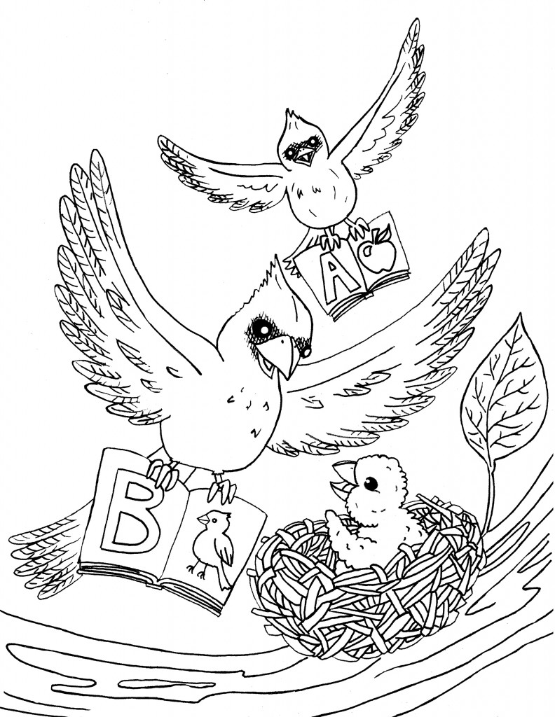 Becky Gehrisch Coloring Page