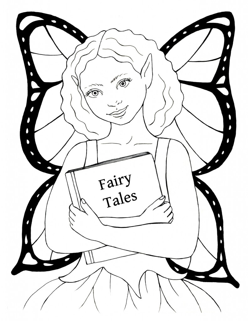 Sarah Pogue Coloring Page