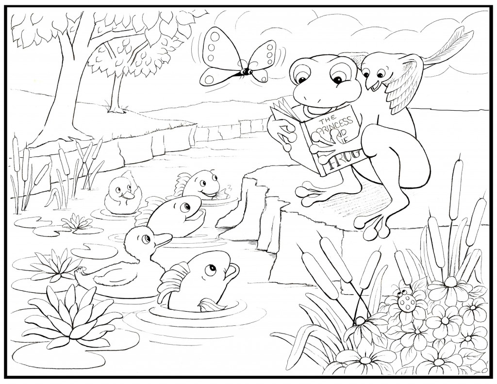 Tracy Onoz Coloring Page